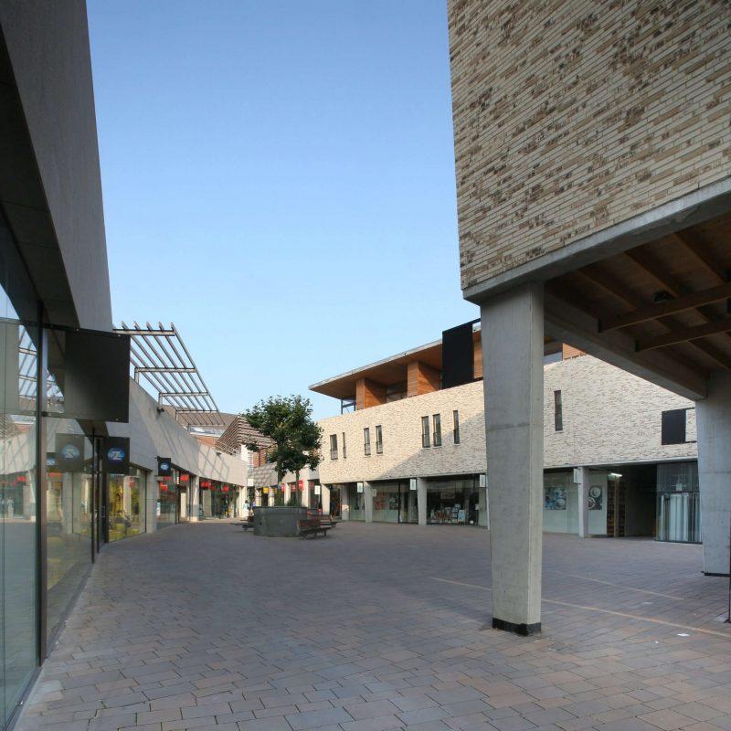 Forum Julium Tongeren a-tract architecture