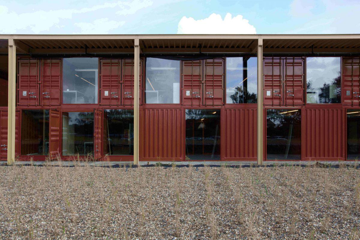 MBS Machiels Building Solutions Beringen a-tract architecture