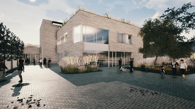 NAC Berlaar a-tract architecture