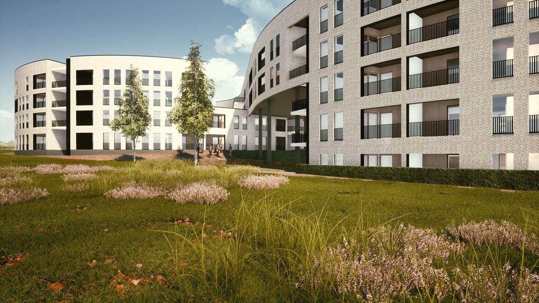 PPS Mijnpark Houthalen-Helchteren a-tract architecture