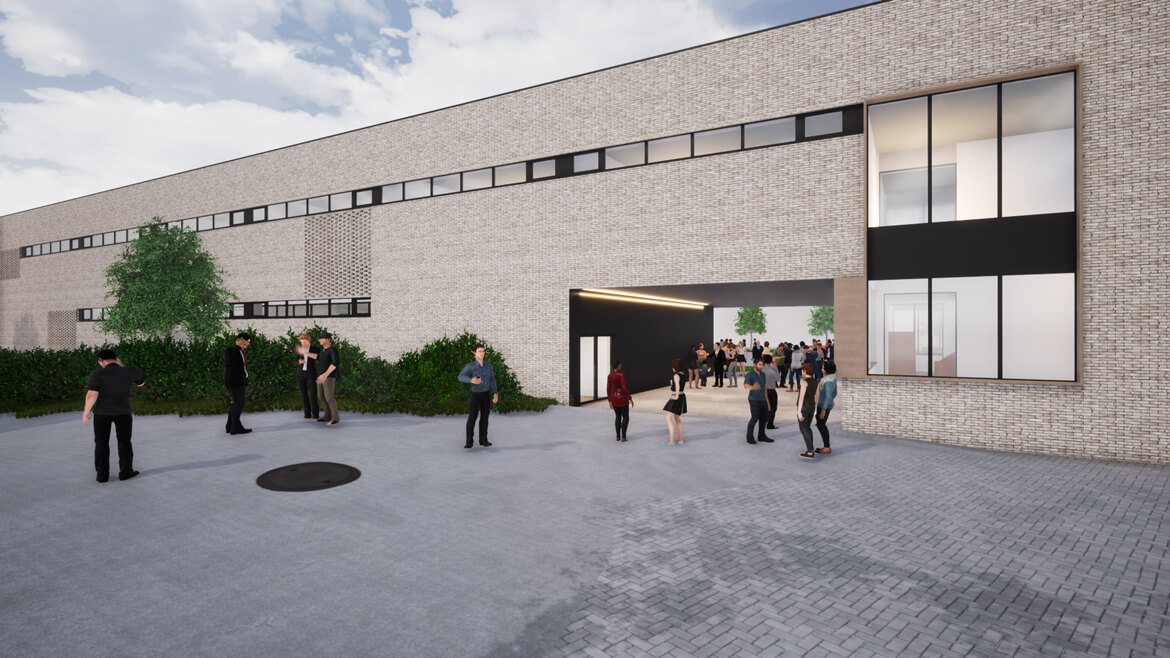 KASOG Genk Atlas College a-tract architecture