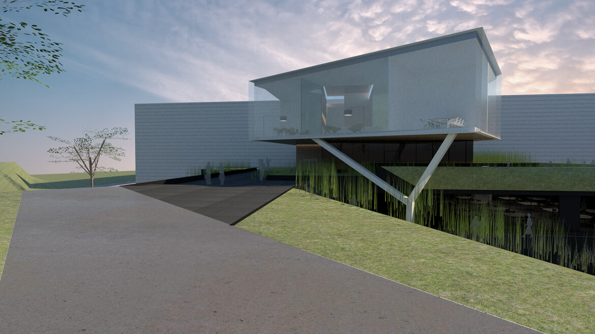 Youston Genk a-tract architecture